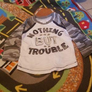 Toddler Boys Mud Pie shirt